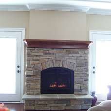 Traditional Living Room by COASTROAD Hearth & Patio