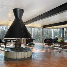 Midcentury Living Room Architect - Jack Viks