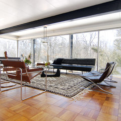 modern living room Architect - Jack Viks