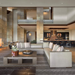contemporary living room by Swaback Partners, pllc