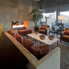 Southwestern Living Room by Swaback Partners, pllc