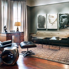 Modern Living Room by Drew Kelly Photography