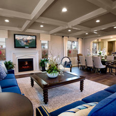 Traditional Living Room by Andrew R. Abrecht Photography