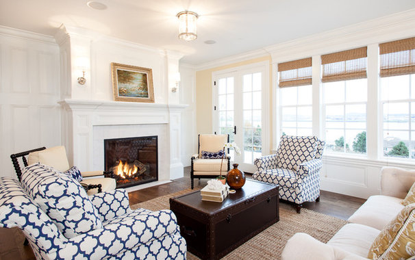 Traditional Living Room by Shawn St.Peter Photography