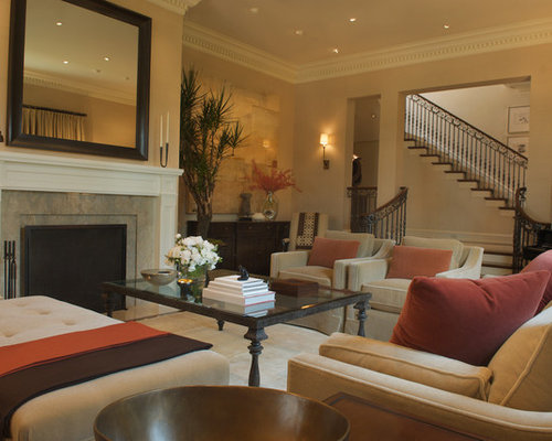 Neutral Living Room Houzz