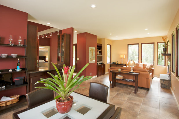Contemporary Living Room by Ed Ritger Photography