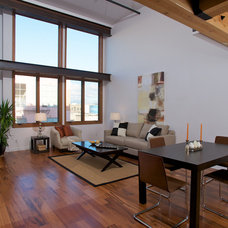 Modern Living Room by Ed Ritger Photography