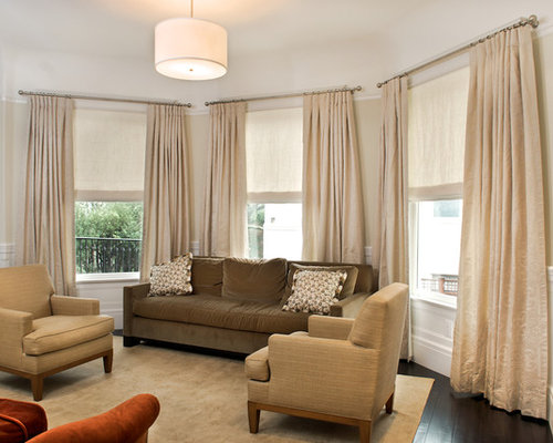 Living room window treatments home design ideas pictures - Houzz window treatments living room ...