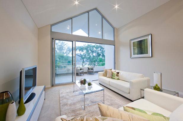 Modern Living Room by Tascone Design