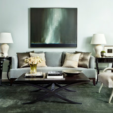 Transitional Living Room by Westbrook Interiors