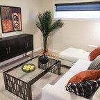Harlandale Avenue Transitional Living Room Toronto