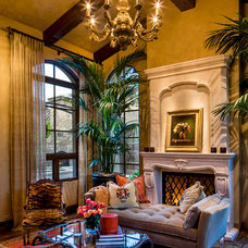 Mediterranean Living Room by Urban Design Associates