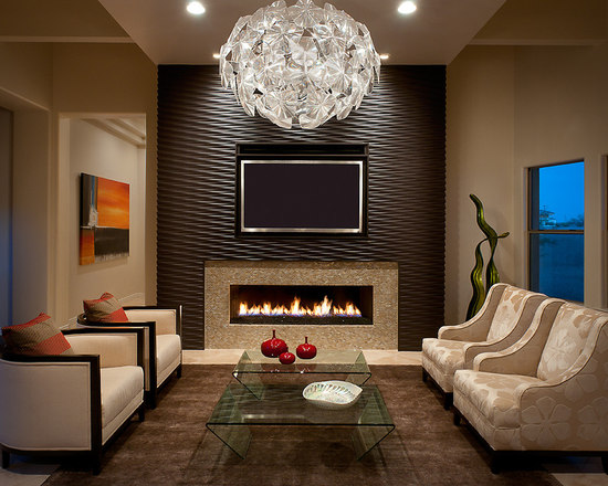 Texture Living Room Design Ideas Remodels Photos Houzz