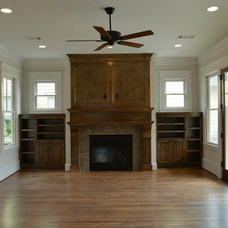 Craftsman Living Room by Southland Homes of Texas