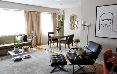 My Houzz: Fashionable, Organic Style in a Compact Virginia Condo