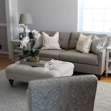 Living Room by Antoinette Ricafort for Ethan Allen Arlington,Va