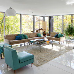 contemporary living room by Dlux Images