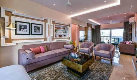 Mumbai Houzz: Art Deco Meets Contemporary in This Cosy Flat