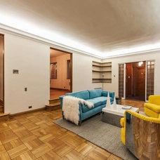 Contemporary Living Room by modmood, llc