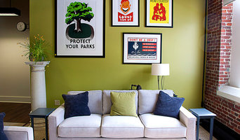 Art Wall in Family Room