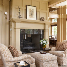 Traditional Living Room by Remington Architecture