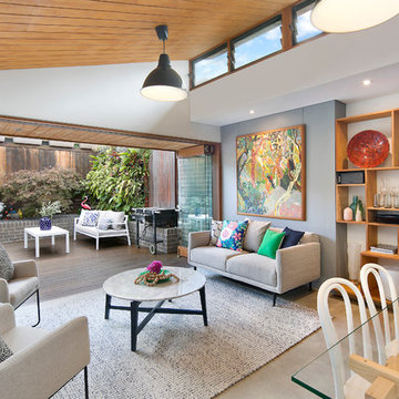 Artfully Redesigned Cottage with Industrial Feel in Lilyfield
