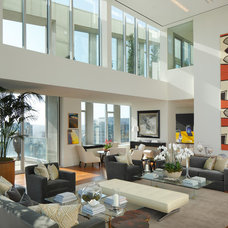 Contemporary Living Room by Arthur McLaughlin & Associates, Inc.