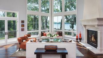 Artisan Home 2015 - Transitional Living Room