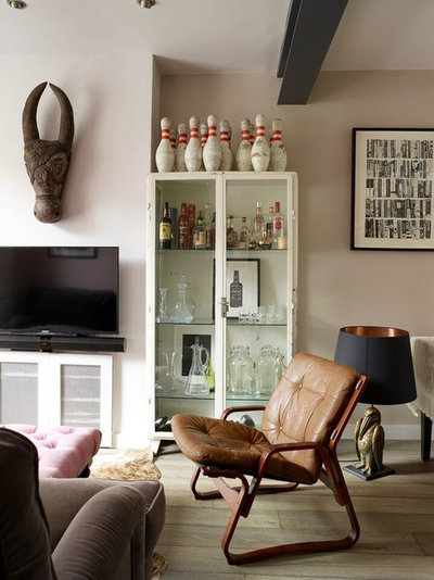 Industrial Living Room by Run for the Hills