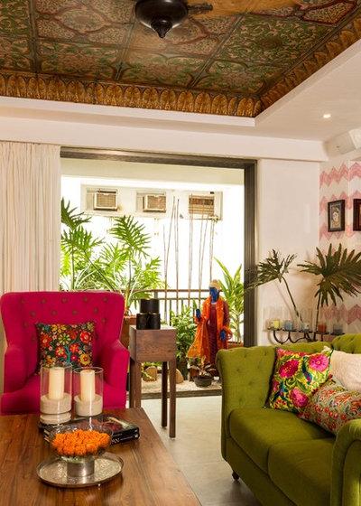 Indian Living Room by Shabnam Gupta