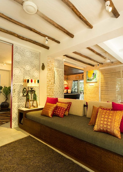 Indian Living Room by Shabnam Gupta