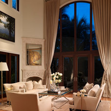 Traditional Living Room by W.A. Bentz Construction, Inc.