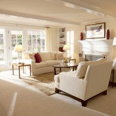 Contemporary Living Room by Asbury Design