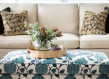 Love the ottoman fabric. Can you tell me where you sourced it? Thanks