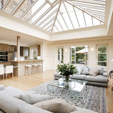 Traditional Living Room by Ashcroft Conservatories Pty Ltd