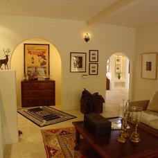 Mediterranean Living Room by Ashford Associates