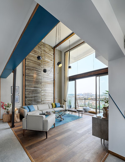 Contemporary Living Room by Aamir and Hameeda Associates