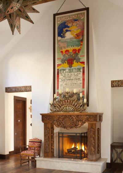 Sudoeste Salón by Astleford Interiors, Inc.