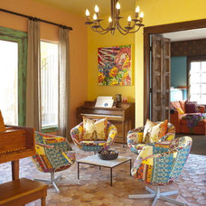 Southwestern Living Room by Astleford Interiors, Inc.
