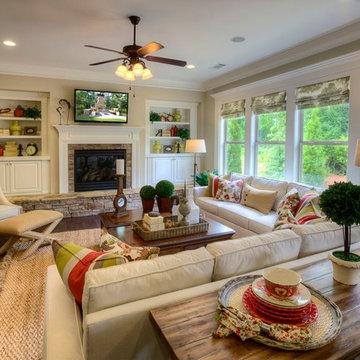 Ashton Woods Atlanta Living Rooms