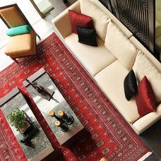 Asian Living Room by Sonnia Orellana