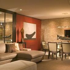 Modern Living Room by suzanne lawson design - interior design