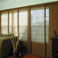 Asian Living Room by Blinds.com