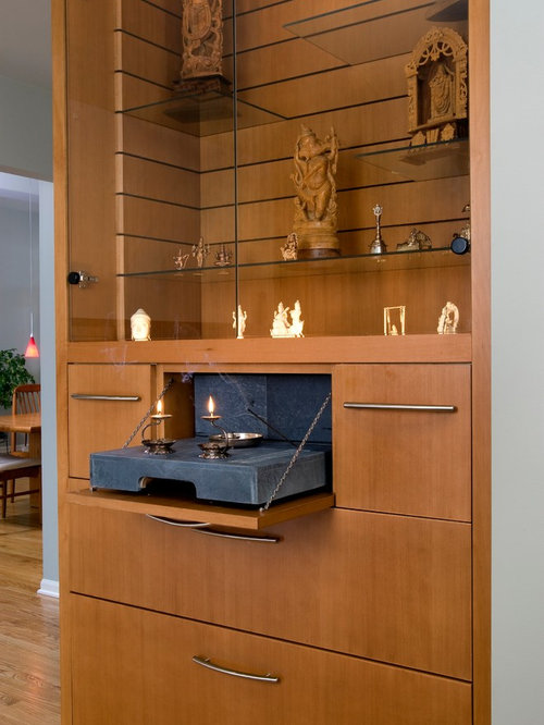 Pooja Mandir Living Room Design Ideas Renovations Photos ... Part 83