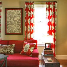 Asian Living Room by Olga Adler