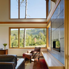 Modern Living Room by Carney Logan Burke Architects