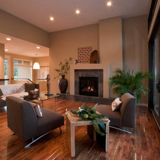 Modern Living Room by Jim Kuiken Design