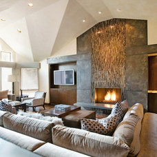 Modern Living Room by msk interiors