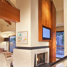 Contemporary Living Room by Slifer Designs