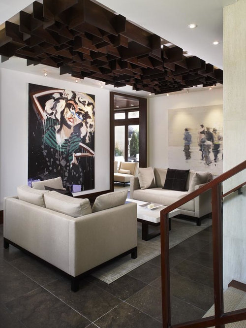 Contemporary Ceiling Design Houzz